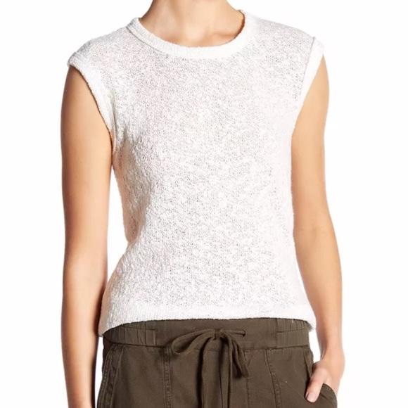 5401e9ac11de James Perse Women s Web Jersey Shell Shirt